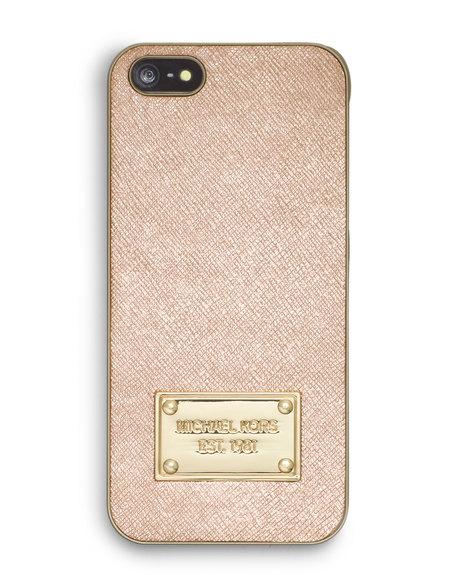 ... KORS / HANDBAGS / TECH / MICHAEL Michael Kors Metallic Phone Cover