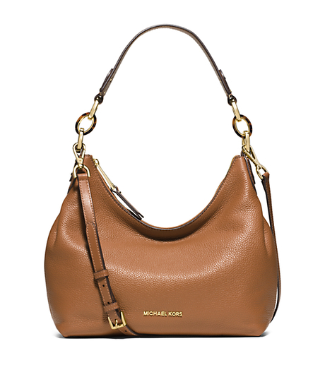 Isabella Medium Leather Shoulder Bag - ACORN - 30S6GIRL2L