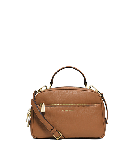 Luka Small Leather Satchel - ACORN - 30S6GL2S1L