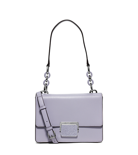Cynthia Small Leather Shoulder Bag - LILAC - 30S6SCYL1N