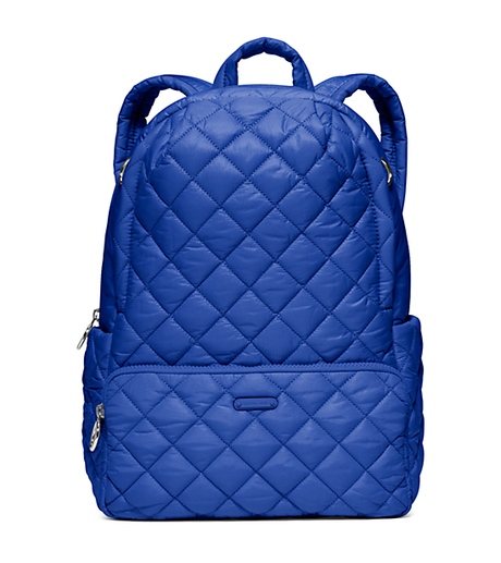 Roberts Medium Quilted-Nylon Backpack - ELECTRIC BLUE - 30S6SRJB8C