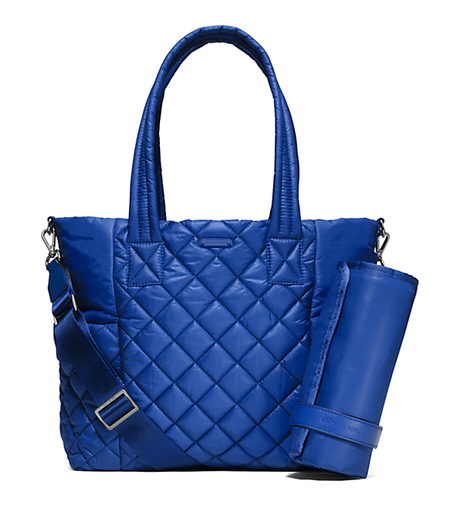 Roberts Large Quilted-Nylon Diaper Bag - ELECTRIC BLUE - 30S6SRJT3C