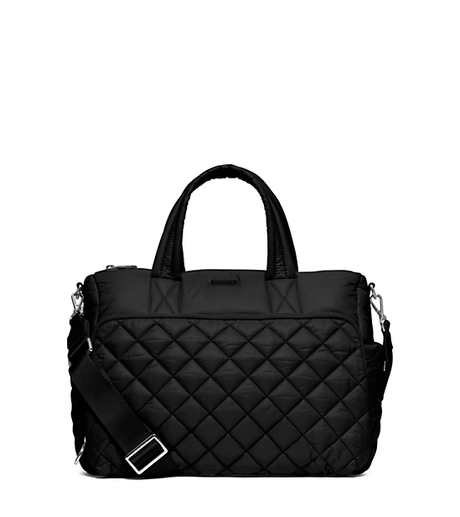 Roberts Medium Quilted-Nylon Gym Tote - BLACK - 30S6SRJU2C