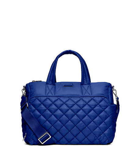Roberts Medium Quilted-Nylon Gym Tote - ELECTRIC BLUE - 30S6SRJU2C