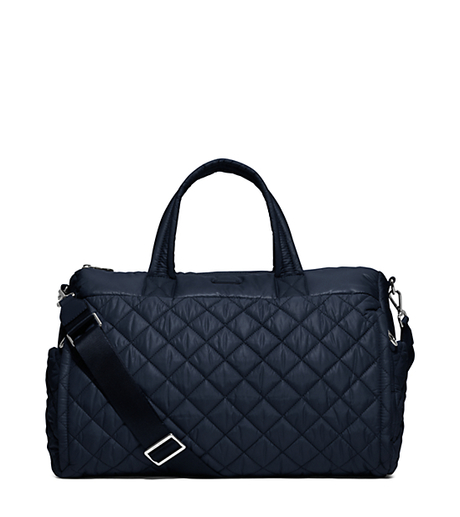Roberts Large Quilted-Nylon Yoga Duffel Bag - NAVY - 30S6SRJU3C