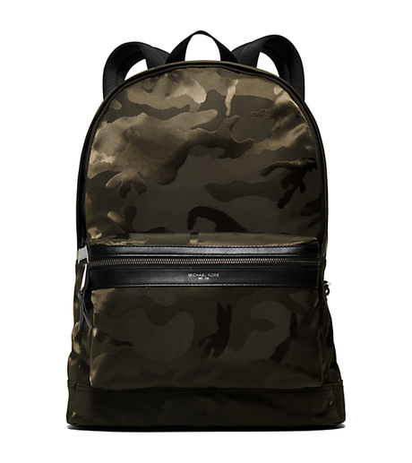 Kent Camouflage Nylon Backpack - ARMY - 33S6LKNB2U
