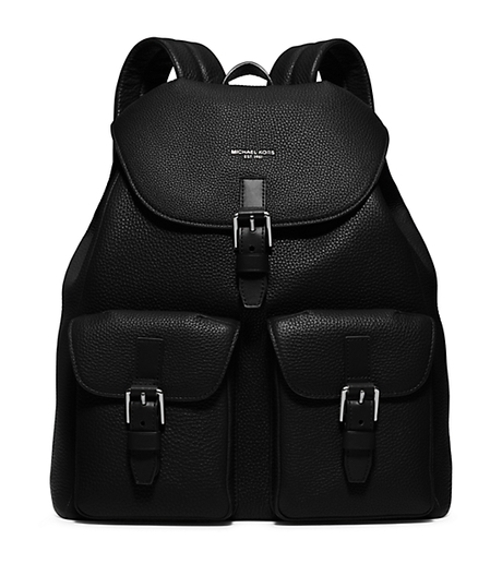 Bryant Leather Backpack - BLACK - 33S6LYTB9L