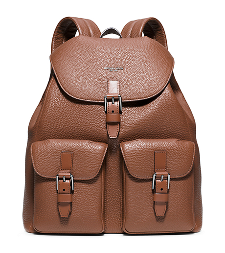 Bryant Leather Backpack - LUGGAGE - 33S6LYTB9L