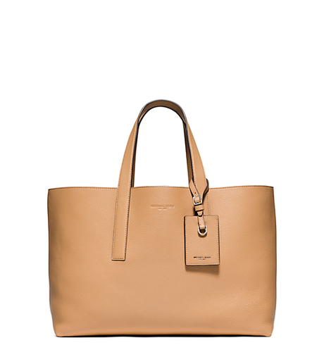Mason Reversible Leather Tote - PEANUT - 33S6MMST9T