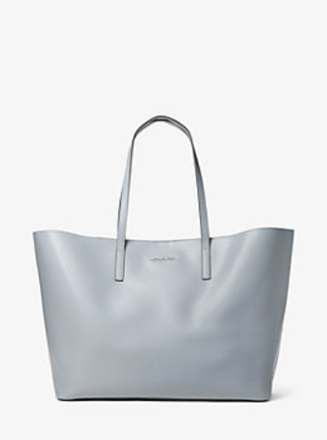 Emry Extra-Large Leather Tote - DUSTY BLUE - 30T6SE4T4L