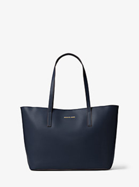 Emry Medium Leather Tote - ADMIRAL - 30F6GE4T2L