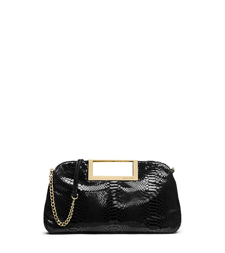 Berkley Large Embossed Patent-Leather Clutch -  - 30S4GBKC3G