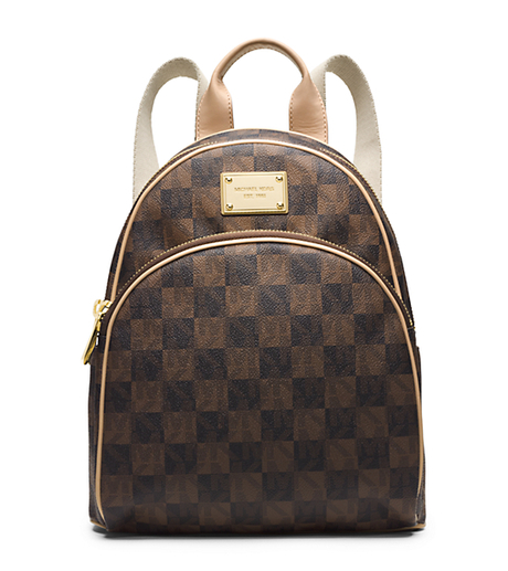 Jet Set Travel Checkerboard Small Backpack -  - 30T4GTTB5I