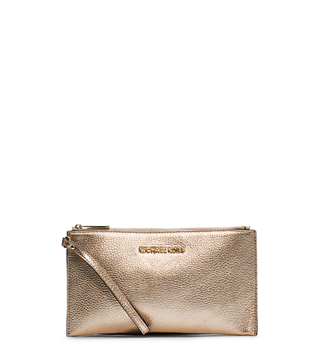 Bedford Metallic Leather Large Clutch -  - 32F4MBFW3M