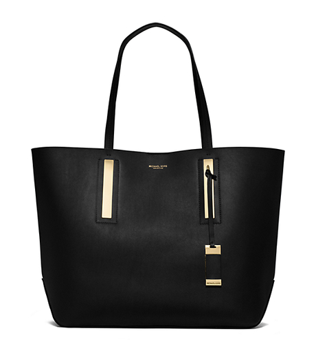 Jaryn Calf Leather Tote - BLACK - 31T4GJYT6L