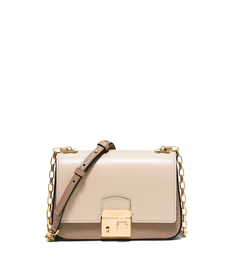 Gia Small Leather Shoulder Bag - DUNE - 31H5GGAX1T