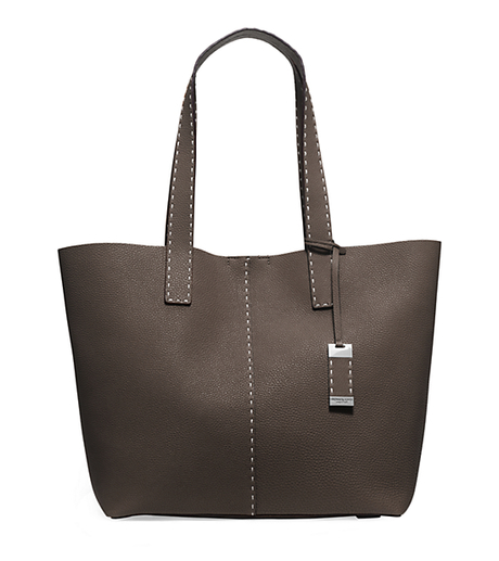 Rogers Large Pebbled-Leather Tote - ELEPHANT - 31H5PRGT7L