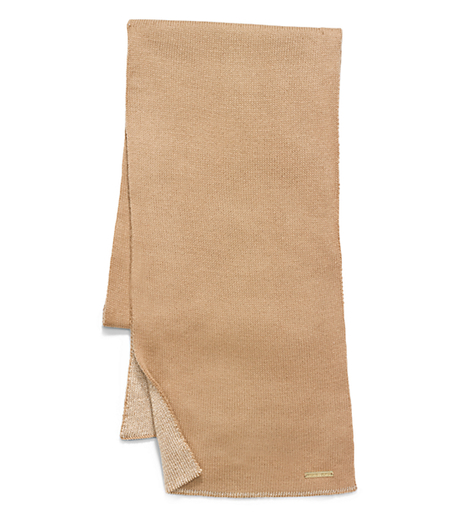 Reversible Jersey Scarf - BROWN - 29536211