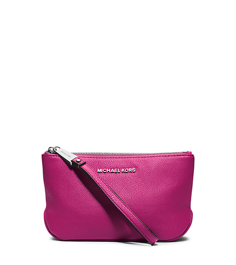 Rhea Large Pebbled-Leather Zip Pouch -  - 32S5SEZM2L