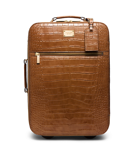 Jet Set Embossed-Leather Suitcase -  - 30S5GTTU4E