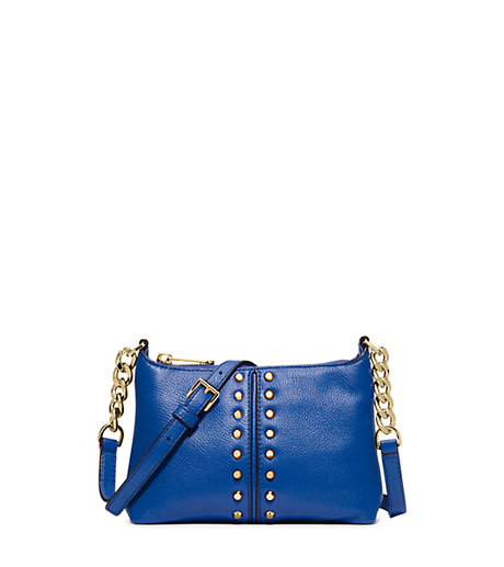 Astor Leather Crossbody - ELECTRIC BLUE - 32T5GACC9L