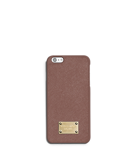Saffiano Leather Case for iPhone 6 Plus - DUSTY ROSE - 32T5GELL1L