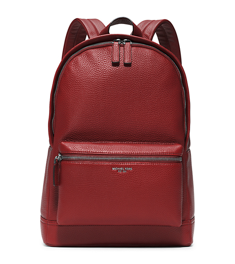 Bryant Leather Backpack - CINNABAR - 33F5LYTB2L