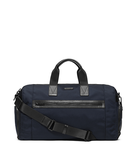 Parker Nylon Gym Bag - NAVY - 33F5TPKU1C
