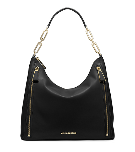 Matilda Large Calfskin Shoulder Bag - BLACK - 30H5GMTL3L