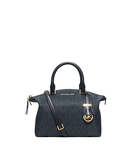 Riley Small Satchel - BALTIC BLUE - 30H5GRLS1B