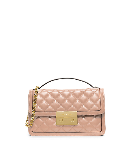 Sloan Small Leather Crossbody - BLUSH - 30H5GSLM1L