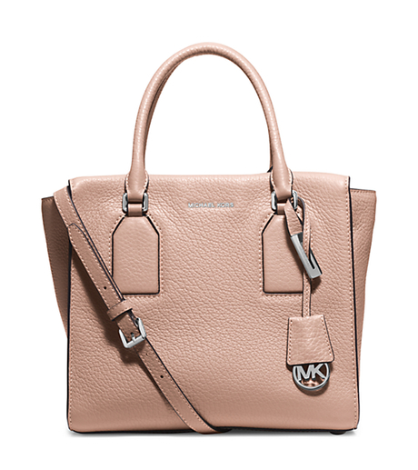 Selby Large Leather Satchel - BALLET - 30H5SEYS3L