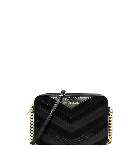 Jet Set Travel Large Crossbody - BLACK - 32H5GTVC3U