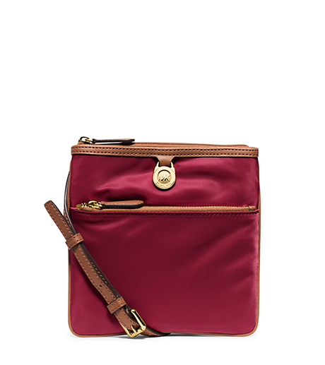 Kempton Small Nylon Crossbody - CHERRY - 32S5GKPC1C