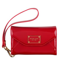 MICHAEL Michael Kors iPhone Wristlet, Red - RED - 8157A1S