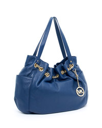 MICHAEL Michael Kors Jet Set Chain Medium Chain Ring Tote - NAVY - 30S2GTCT2L