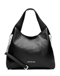 MICHAEL Michael Kors Large Devon Shoulder Tote - BLACK - 30S3SDVE3L