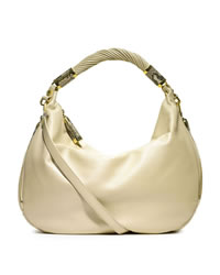 Michael Kors Large Tonne Crescent Hobo - SHELL - 31T3GTYH8M