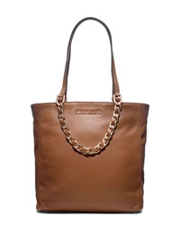 MICHAEL Michael Kors Medium Harper Tote - LUGGAGE - 30H3TRPT2L