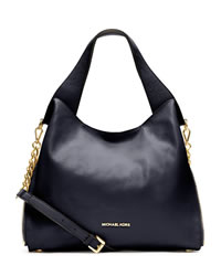 MICHAEL Michael Kors Large Devon Shoulder Tote - NAVY - 30S3GDVE3L