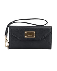 MICHAEL Michael Kors iPhone® 5s and 5 Saffiano Clutch - BLACK - SFW004ALUS