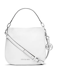 MICHAEL Michael Kors Medium Brooke Shoulder Bag - OPTIC WHITE - 30H3SOKL2L