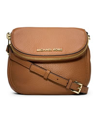 MICHAEL Michael Kors Bedford Flap Crossbody - LUGGAGE - 32S4GBFC2L