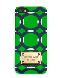 MICHAEL Michael Kors Electronics iPhone® 5 Cover - PALM/NAVY/WHITE - 32S4GELL1P