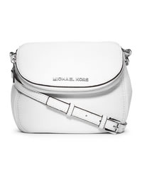 MICHAEL Michael Kors Bedford Flap Crossbody - OPTIC WHITE - 32S4SBFC2L