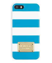 MICHAEL Michael Kors Striped iPhone® 5 Cover - SUMMER BLUE - 32S3GELL1O