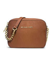 MICHAEL Michael Kors Jet Set Crossbody - LUGGAGE - 32S4GTVC1L-230