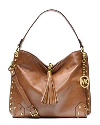 MICHAEL Michael Kors Medium Serena Shoulder Bag - LUGGAGE - 30S4GNRL2L-230