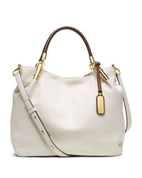 Michael Kors Large Skorpios Shoulder Bag - ECRU - 31S4GSKH9L