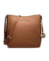 MICHAEL Michael Kors Large Jet Set Travel Messenger - LUGGAGE - 30T2GTVM3L